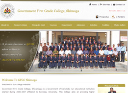 Government First Grade College, Shivamogga